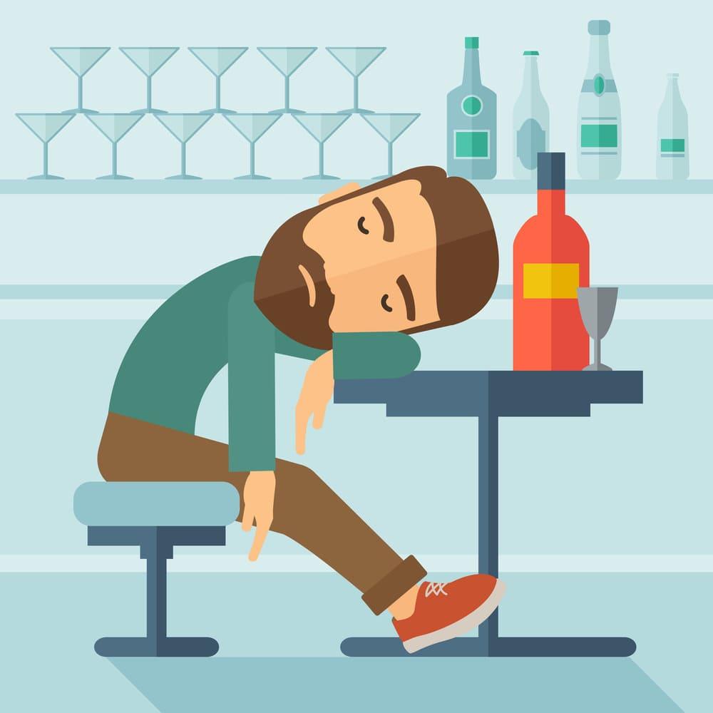 легка форма алкогольного отравления